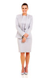 Business woman white Stock Images