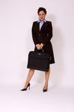 Business Woman With Briefcase Royalty Free Stock Images