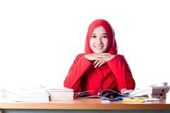 Business woman at work Stock Photos