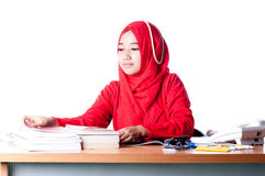 Business woman at work Stock Image