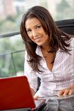 Business woman working Royalty Free Stock Photos