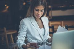 Day in office. royalty free stock images