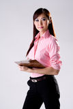 Business woman writing notes Stock Photography