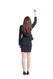 Business woman writing Stock Photo