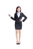 Business woman writing Royalty Free Stock Photography