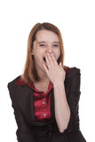 Business Woman - Yawning Stock Images