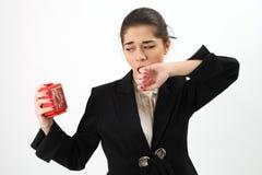 Business woman yawning Stock Photos