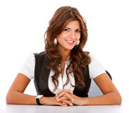 Business womanl portrait Royalty Free Stock Image