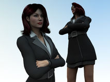 Business Women 2 Stock Photos