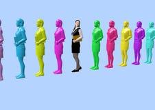 Business women vector illustration