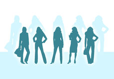 Business women royalty free illustration
