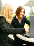 Business Women In Action Stock Photo