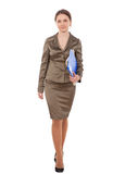 Business women in full-length Royalty Free Stock Photos
