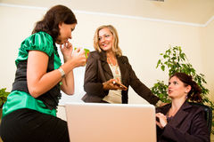 Business women having a break Royalty Free Stock Photo