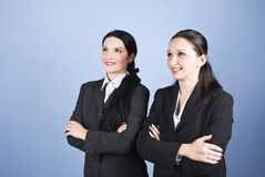 Business women looking to the future Stock Photos