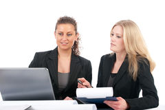 Business women in office Stock Photography