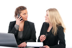Business women in office Royalty Free Stock Image