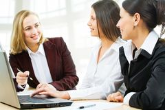 Business women at office Royalty Free Stock Image