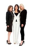 Business women smiling Royalty Free Stock Images