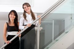 Business women smiling Stock Photography