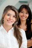 Business women smiling Royalty Free Stock Image