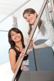 Business women smiling Stock Image