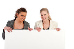 Business women with space for text Stock Image