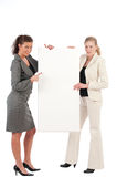 Business women with space for text Royalty Free Stock Photo