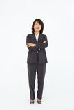 Business women standing in business suit Royalty Free Stock Photography