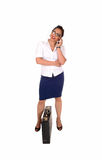 Business women talking on phone. Stock Image
