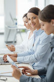Business women team at work Stock Images
