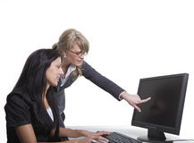Business Women Teamwork Royalty Free Stock Photos