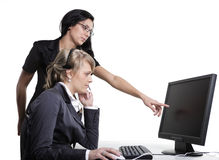 Business Women Teamwork Stock Photography