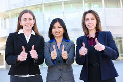 Business Women Thumbs Up Royalty Free Stock Photo