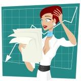 Business women unhappy Royalty Free Stock Photos