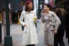 Business Women Walking Royalty Free Stock Images