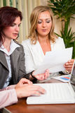 Business women working Stock Photography