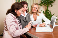 Business women working Royalty Free Stock Images