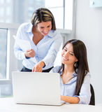 Business women working Royalty Free Stock Photography