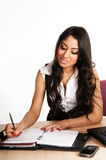 Business women working in the office Royalty Free Stock Images