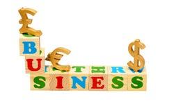 Business Wooden Blocks Stock Photos