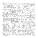 Business word cloud Royalty Free Stock Photo