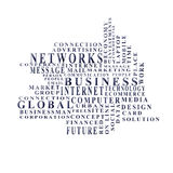 Business words Stock Photography