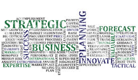 Business Words Collage 2 Royalty Free Stock Photos