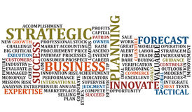 Business Words Collage 2 Stock Photo