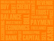 Business words collage Royalty Free Stock Images