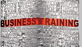 Business words related with word Trainning Royalty Free Stock Image
