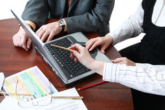 Business work Royalty Free Stock Photos