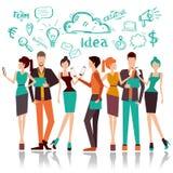 Business work concept stock illustration