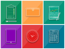 Business work elements Royalty Free Stock Photography
